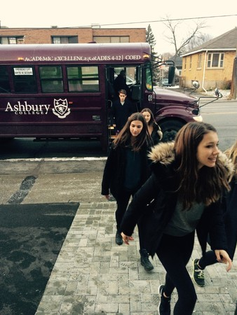 Ashbury Volunteer Bus